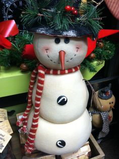 Selection of Snowman carried at Rosi's Cottage Treasures