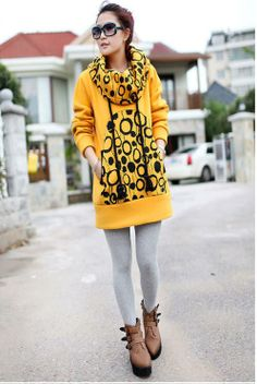 Fresh New Style Embroidery Long for Women Hoodies - stylishplus.com-I want this!