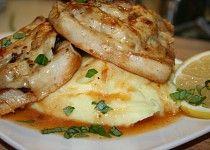 Rybí filé s tomatovým kaviárem, sušenými rajčaty a fetou