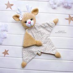 PATTERN Cotton comforter Series 4 Lovey Pattern Baby Lovey image 1 Source by ramona_gaebele Crochet Security Blanket, Crochet Lovey, Baby Security Blanket, Lovey Blanket, Crochet Amigurumi, Crochet Blanket Patterns, Crochet Dolls, Baby Patterns, Mittens Pattern