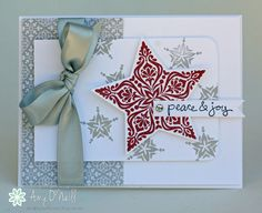Amy O'Neill : Amy's Paper Crafts  – Peace & Joy Amongst the Stars - FMS163 - 11/19/14 (SU - Bright & Beautiful stamps, Good Greetings stamps)