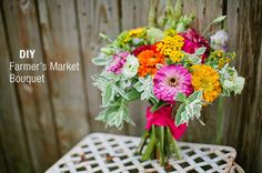 Farmer's Market Bouquet   20 Cute And Quirky Wedding Bouquet Ideas