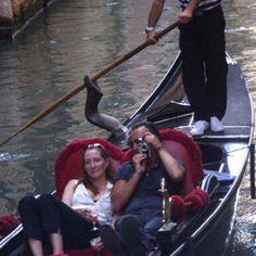Bruce Springsteen and Patti Scialfa, in Venice.