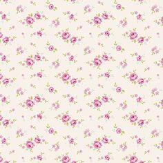 Хлопковая ткань Тильда Mini Rose White - Ткани с рисунком - Ткани Тильда - Shop-Tilda - Все для шитья кукол Тильда.