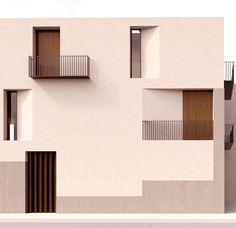 Facade Architecture, Residential Architecture, Contemporary Architecture, Contemporary Style, Facade Design, House Design, Building Facade, Facade House, Window Design
