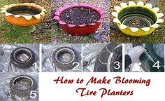 Tire Planter Instructions