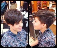 32 Stylish Pixie Haircuts for Short Hair Short Pixie Haircut with Side Long Bangs Short Hairstyles 2015, Short Pixie Haircuts, Pixie Hairstyles, Short Hair Cuts, Short Hair Styles, Pixie Cuts, Haircut Short, Long Haircuts, Casual Hairstyles