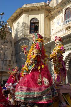 Gangaur Festival Udaipur, Rajasthan, India.