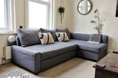IKEA - FRIHETEN - Grey corner sofa bed with storage Left Or Right | eBay Grey Corner Sofa Bed, Ikea Corner Sofa, Corner Sofa Bed With Storage, Ikea Sofa Bed, Bed Storage, Friheten Sofa Bed, Sectional Sleeper Sofa, Ikea Lack, Apartment Goals
