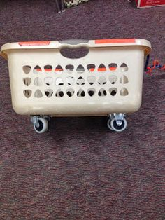 Problem Solved: Lunch Crate on Wheels!