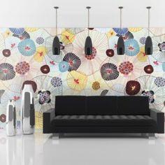 Fototapete A breath of summer 231 cm x 300 cm Brayden Studio 3d Wallpaper Mural, Wallpaper Roll, Wall Murals, Wall Art, Wall Decor, Room Decor, Motif Floral, Decoration, Vibrant Colors