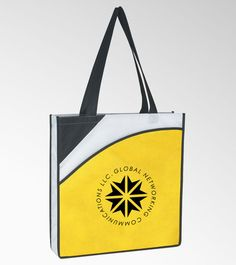 Non Woven Personalized Conference Tote Bag   Trade Show Totes   Myron Promotional Products & Gifts