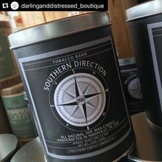 #Repost @darlinganddistressed_boutique  Tobacco Barn Candles by @southernfireflycandle are restocked!! #southernfirefly #shoplocal #gifts #SouthernDirection #tobaccobarn #candlesonthemove #southerngentleman #candles