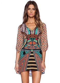 Belissimo Vestido Étnico Tribal