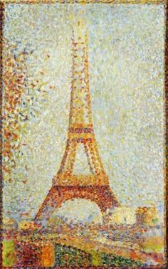 Some paintings, photos and curiosities of the Eiffel Tower in Paris http://designmuitomais.blogspot.com.br/2015/03/algumas-pinturas-fotos-e-curiosidades.html