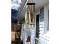 To attract big opportunities and abundance, hang a metal wind chime to the left of the front door (as you look straight at it) - the traditional way of attracting Feng Shui