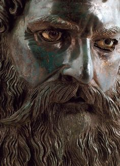 Late 4th-Early 3rd Century BC: Thracian Bronze Head of Seuthes III. Found in the Golyamata Kosmatka mound, a little over a half a mile south of the town of Shipka, Bulgaria.