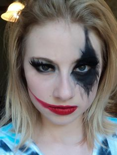 harley quinn make up - Google zoeken
