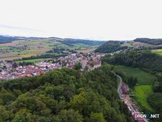 Aerial drone Photo from Switzerland by Alain_Michel : Route d'Yvonand 44, 1522 Lucens, Switzerland