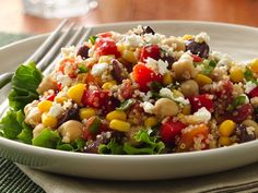 Quinoa and Vegetable Salad (Gluten-Free)