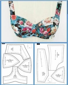 Underwear Pattern, Lingerie Patterns, Bra Pattern, Dress Sewing Patterns, Clothing Patterns, Corset Sewing Pattern, Crochet Pattern, Fashion Patterns, Sewing Bras
