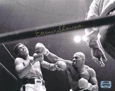 Earnie Shavers Signed 8x10 Photo vs. Muhammad Ali (Shavers Hologram)
