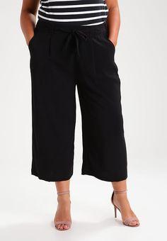 TOPAZ CROP - Kangashousut - black Topaz, Capri Pants, Black, Fashion, Moda, Capri Trousers, Black People, Fashion Styles, Fashion Illustrations