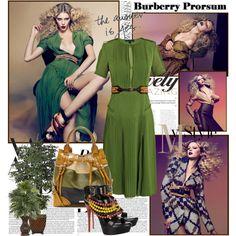 Burberry Prorsum S/S 2012, created by mrekulli on Polyvore