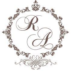 Monogramas gratuitos - http://casandosemgrana.com.br/download-monogramas-gratuitos-para-o-seu-casamento/