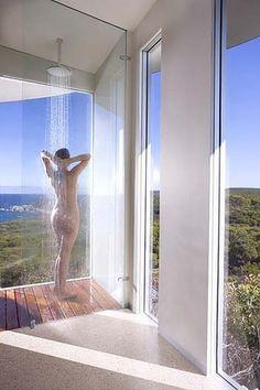 A rain shower at Southern Ocean Lodge. Kangaroo Island South #Australia