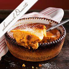 Pumpkin Pudding With Raisins
