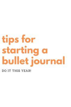 Bullet Journal For Beginners, Bullet Journal Hacks, Bullet Journal How To Start A, Bullet Journals, Tombow Dual Brush Pen, Ribbon Bookmarks, Mood Tracker, Journal Diary, Brush Lettering