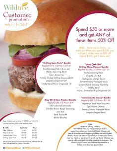 May 2012 Customer Promotion!!
