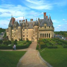 Chateau Langeais in France