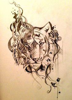 Resultado de imagen para mandala tiger