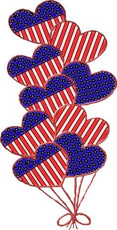 Patriotic Hearts by SusannaRoxanne.deviantart.com on @DeviantArt
