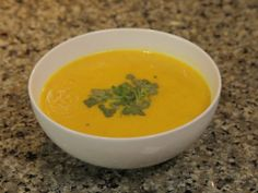 Creamy Carrot Soup Mind Body TV Video with Andrea Potter at Rooted Nutrition