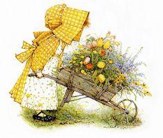 Sueños de niña: Holly Hobbie,Clásica en colores;http://lentresuenosdeunanina.blogspot.com/2011/10/holly-hobbieclasica-en-colores.html#