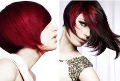 short dark red hair - Google Search