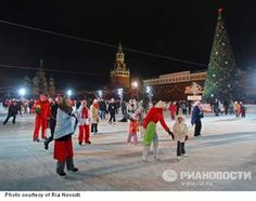 how people in russia celebrate christmas