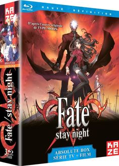 Fate Stay Night : La Série + Le Film Unlimited Blade Works  en BLU-RAY - NEUF