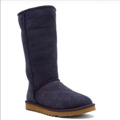 Brand new authentic tall navy UGG boots New in box UGG Shoes Winter & Rain Boots