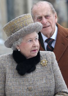 Duke of Edinburgh Photo - Queen Elizabeth II And The Duke Of Edinburgh Attend Church