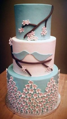 top-14-spring-wedding-cake-designs-cheap-unique-project-for-easy-party-day (5)