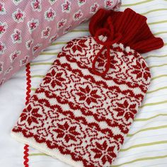 Scandinavia style hot water bottle cover
