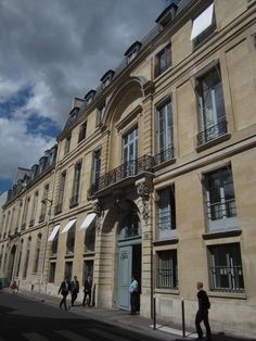 58 rue de Varenne  Paris, France. Edith Wharton's first apartment in Paris (1907-1909). Rented from George W. Vanderbilt. Currently an annex of the Prime Minister's office across the street in Hotel Matignon