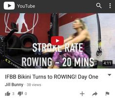 This weeks rowing video and de brief is up on YouTube!!! See how my first training session and weights routine went by clicking on above link in bio!  Hit subscribe to stay updated on my new journey into rowing... And all the other fun  Mishaps along the way! by fitbunnyjill