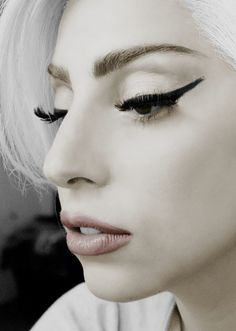 """You laugh at me because I'm different, I laugh at you because you're all the same"" -gaga"