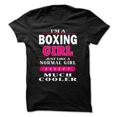 boxing girl T Shirts, Hoodies, Sweatshirts. CHECK PRICE ==► https://www.sunfrog.com/LifeStyle/BOXING-GIRL.html?41382