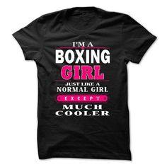 boxing girl T Shirts, Hoodies, Sweatshirts. CHECK PRICE ==► https://www.sunfrog.com/LifeStyle/BOXING-GIRL.html?41382